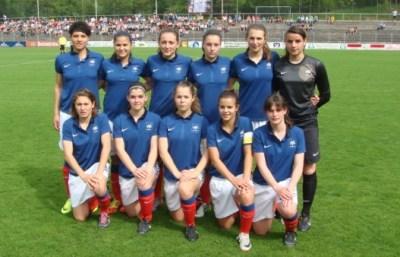 Le onze tricolore lors du premier match (photo JYF)