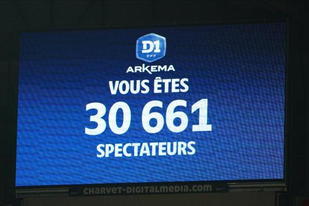 Le Groupama Stadium a atteint un nouveau record il y a deux mois lors d'OL - PSG