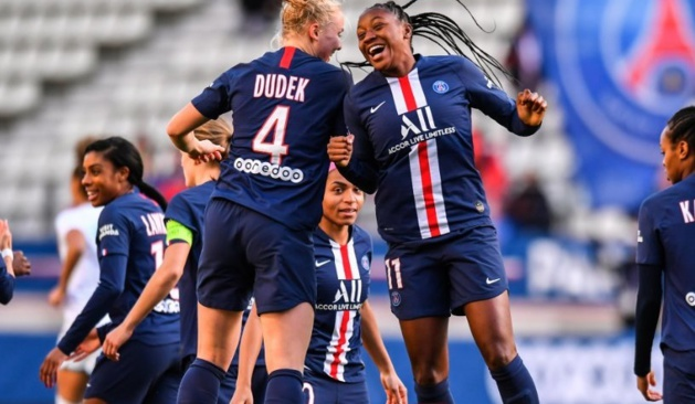 Dudek et Diani (photo PSG.fr)