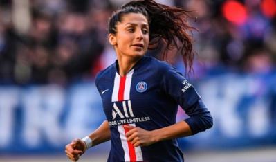 Doublé pour Nadim, aussi passeuse décisive (photo PSG.fr)