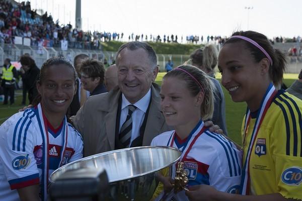 Le président Aulas était aussi présent (Photo Eric Baledent/LMP)