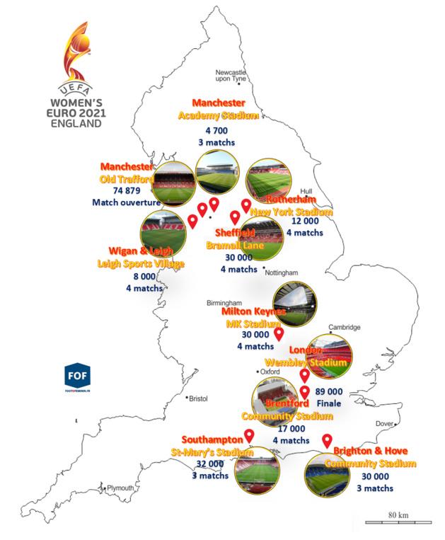 Euro 2021 - Découvrez les stades et l'organisation : d'Old Trafford à Wembley