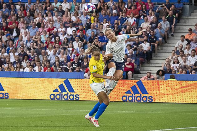 Amandine Henry avait marqué le but décisif en huitième de finale de la Coupe du Monde 2019 (photo Eric Baledent)