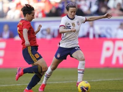 Rapinoe à droite (photo US Soccer)