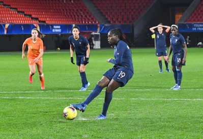 Mbock a inscrit un penalty (photo FFF)