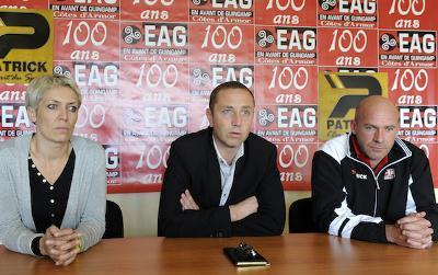 D1 - Olivier MOULLAC nommé entraîneur à l'EA Guingamp