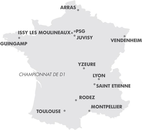 D1 - Le calendrier des matchs 2012-2013