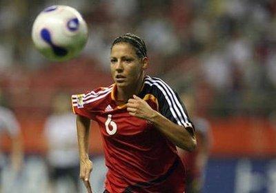 Linda Bresonik a déjà disputé trois Coupes du Monde