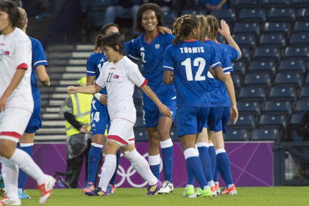 JO - FRANCE - COREE DU NORD : le diaporama du match