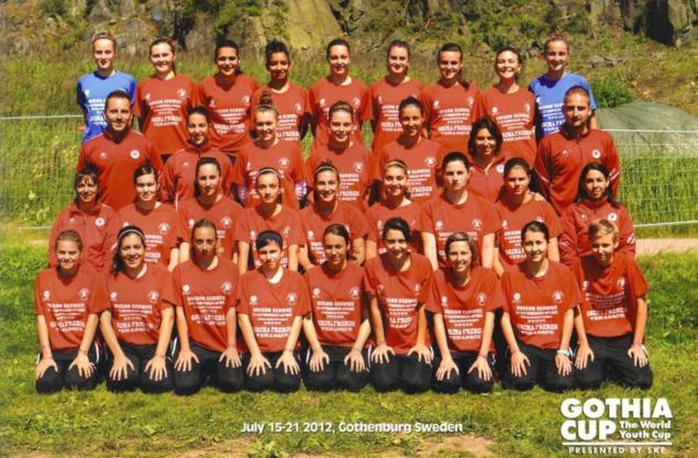 Gothia Cup - Des Montiliennes remarquables en SUEDE