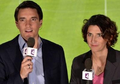 Marinette Pichon avec Fabien Levesque (photo DR)