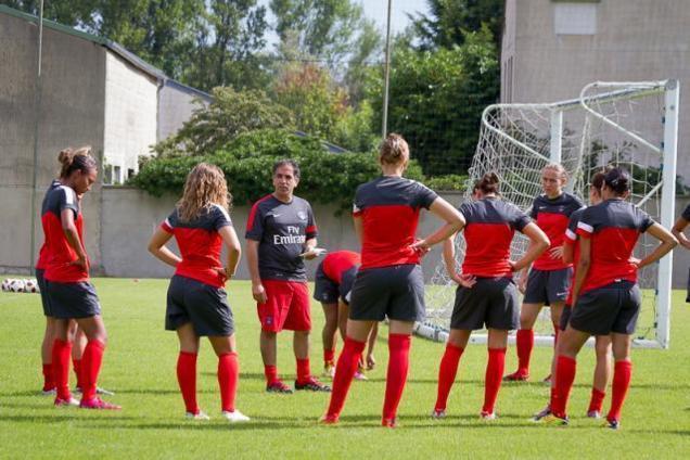 D1 - Diaporama : entraînement du PSG