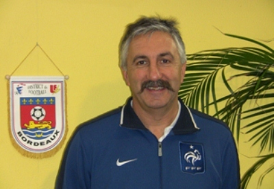 Gilles Eyquem, en charge des U19 (photo District)