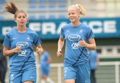 Les deux internationales Camille Catala et Julie Soyer sont désormais Juvisiennes (photo FFF.Fr)