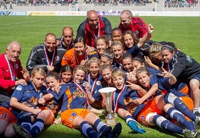 Les U19 de Montpellier vont progressivement rejoindre la D1 (photo E Baledent)