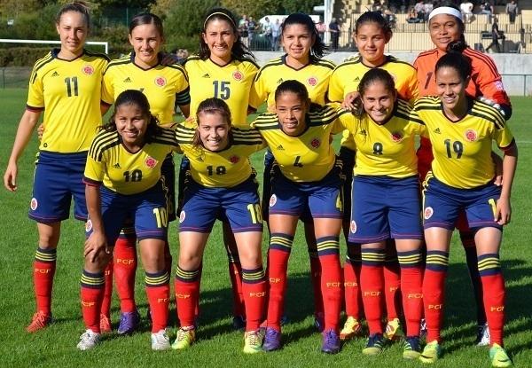 La sélection colombienne U17 (photo Marianne Buron)