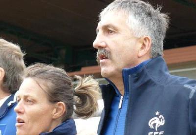 Gilles Eyquem, avec Sandrine Roux à gauche (photo LLF)