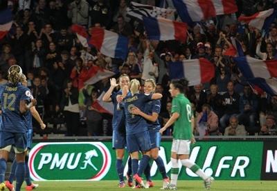 Bleues - La FRANCE valide son ticket pour la SUEDE