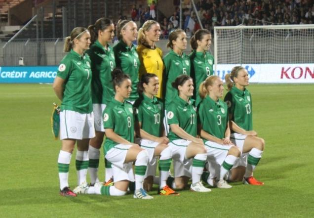 L'équipe d'Irlande