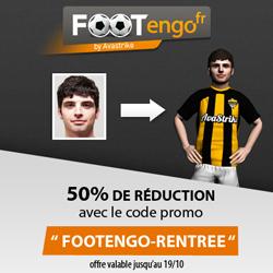 OFFRE RENTRÉE - Bénéficiez d'une réduction de 50 % sur les Figurines Footengo !