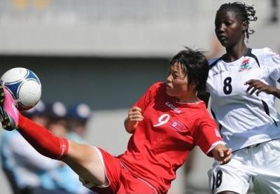 Hyang Sim-Ri a signé un doublé avec la Corée du Nord net vainqueur 11-0