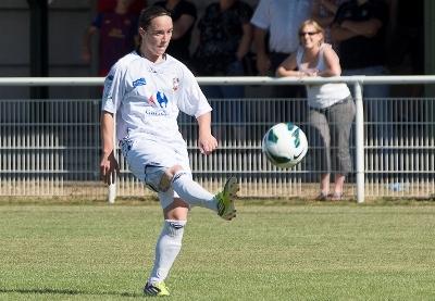 Julie Machart signe un triplé pour Juvisy (photo Eric Baledent/LMP)