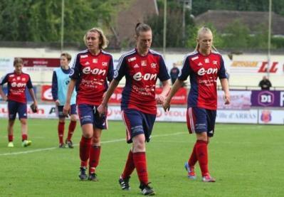 Laurie Dacquigny a inscrit le premier but en D1 pour Arras (photo JL Martinet)