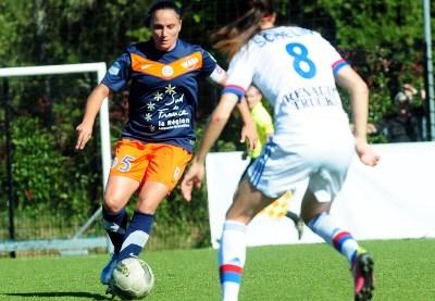 Avec Montpellier, Ophélie Meilleroux espère décrocher un trophée cette saison (photo MHSC)