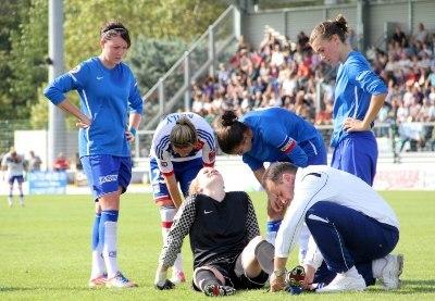 Libby Stout blessée a été remplacée face à Lyon (photo David Pommier)