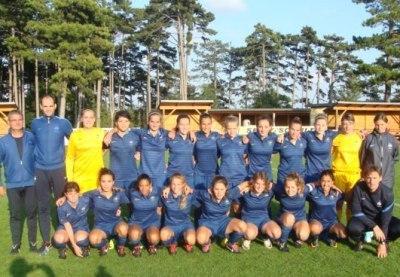 La sélection U17 victorieuse en Autriche lors du tournoi de préparation