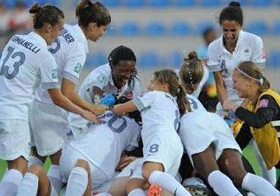 Les Tricolores peuvent exulter au coup de sifflet final (photo fifa.com)