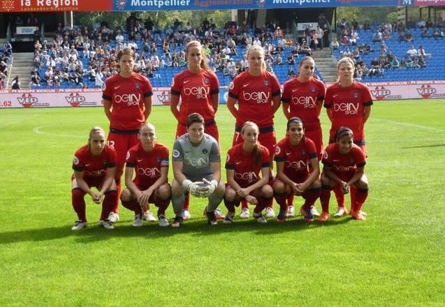 L'équipe du Paris-Saint-Germain FC