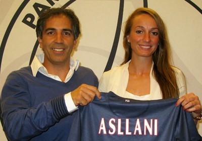 Asllani a débuté en D1 avec le numéro 29