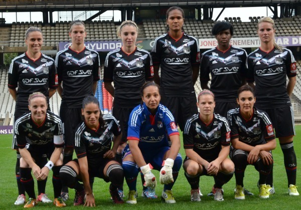 Женский футбольный клуб лион