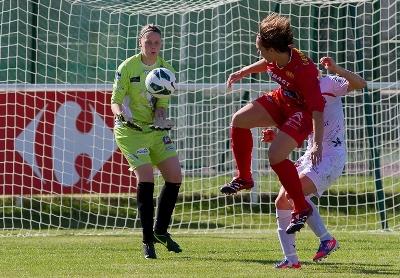 Flavie et Rodez ont ramené deux bons points de Juvisy (photo W Morice/LMP)