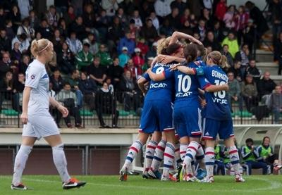 Les Lyonnaises remportent le premier choc (photo W Morice/LMP)