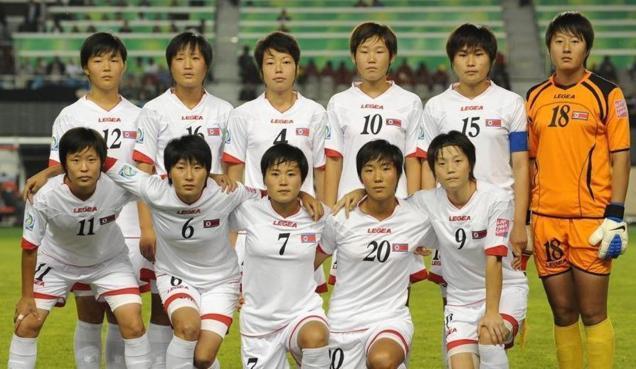 La sélection U17 nord-coréenne (photo fifa.com)