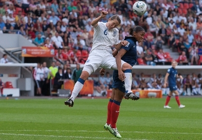 Lors du Mondial, la France avait battu l'Angleterre en quart (photos Eric Baledent/LMP)