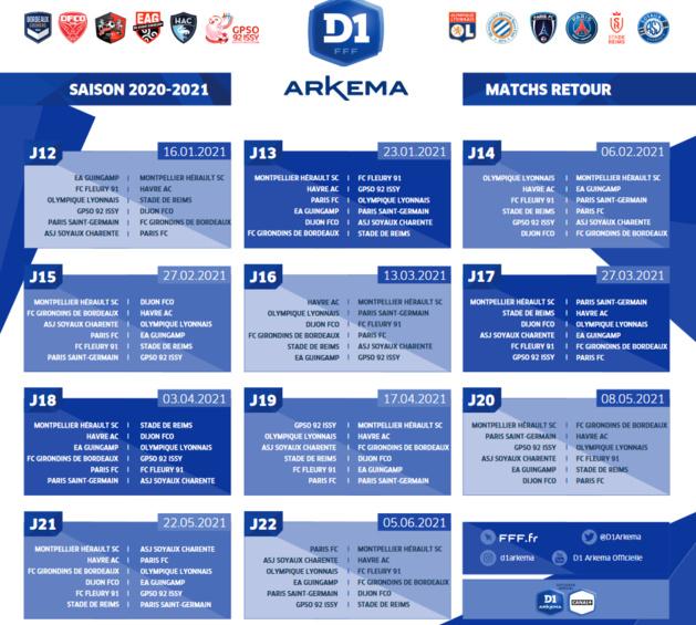 #D1Arkema - Le calendrier est sorti