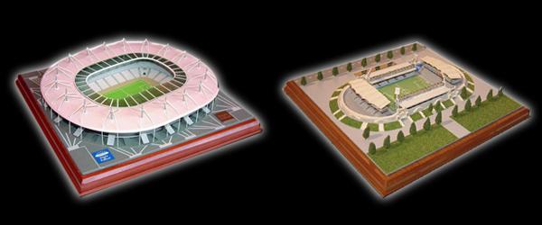 NOUVEAU - Retrouvez l'ambiance surchauffée de vos stades mythiques, avec les Maquettes Footengo !