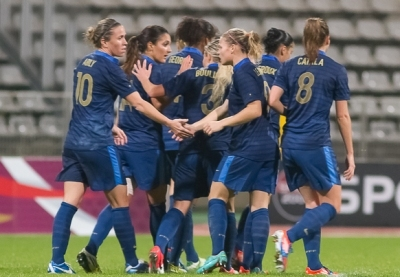 L'année 2012 touche à sa fin pour les Bleues, avec cet avant-dernier match (photo W Morice/LMP)