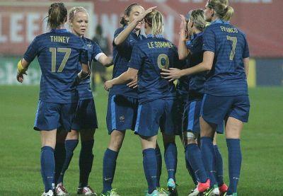 Le Sommer a signé l'égalisation en fin de match (photo vrouwenteam.be)