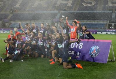 Au terme d'une rencontre interminable, le PSG décroche le trophée (photo archive LAF)