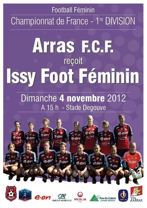"""D1 – Une victoire qui """"fait du bien"""" au FCF ARRAS"""