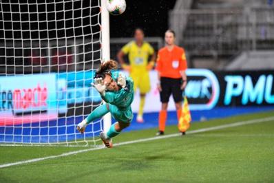 Endler a stoppé un tir au but avant de manquer sa tentative (photo PSG)
