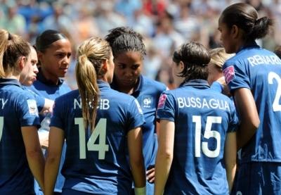 BLEUES - Les vingt joueuses pour ALLEMAGNE - FRANCE