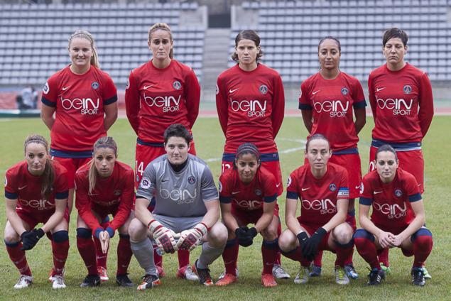 Le Paris-Saint-Germain FC (photo E Baledent/LMP)