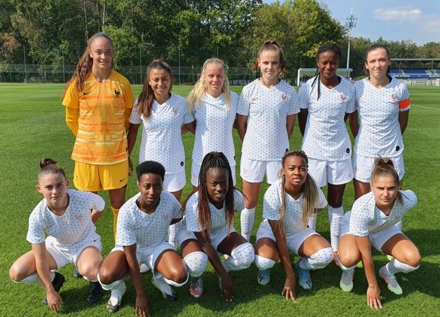 U20 - Match nul entre la sélection française et FLEURY