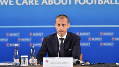 Le Président de l'UEFA Aleksander Ceferin (photo UEFA)