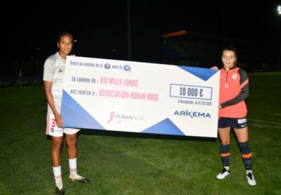 #D1Arkema - Octobre Rose : un chèque de 10 000 Euros